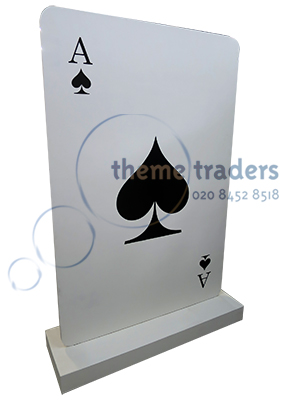 Giant Playing Card props - prophire - clubs props - CARD23